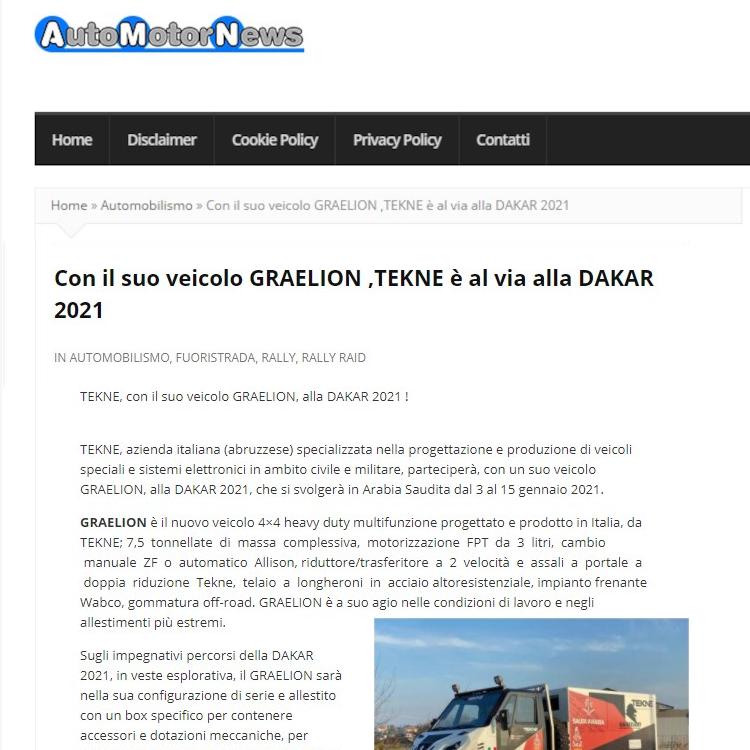 DakarAutoMotorNews