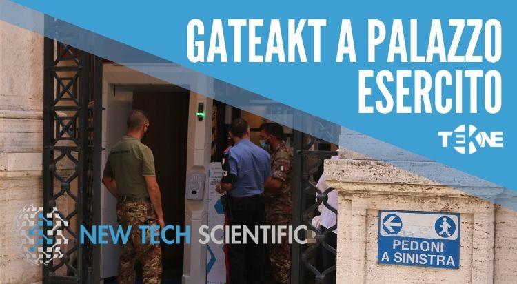 GATEAKT arriva a Palazzo Esercito