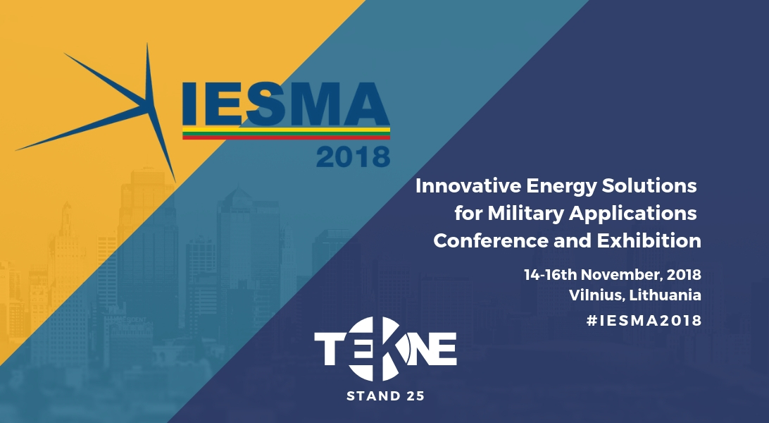 Tekne at IESMA 2018 showing defence expertise