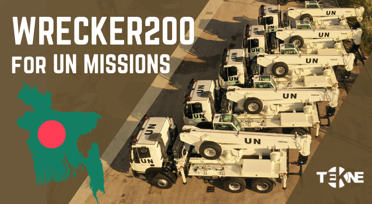 More WRECKER200 by TEKNE for UN Missions!