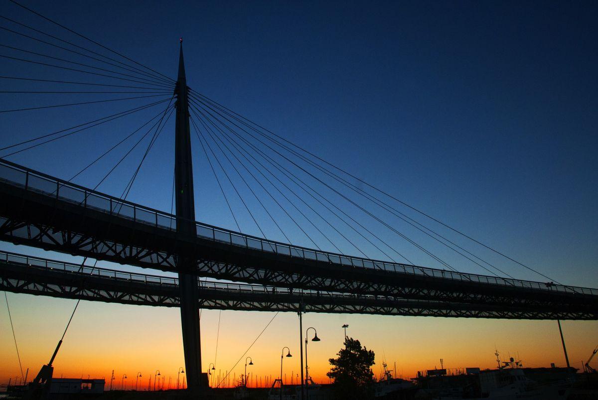 Pescara, ponte sul Mare