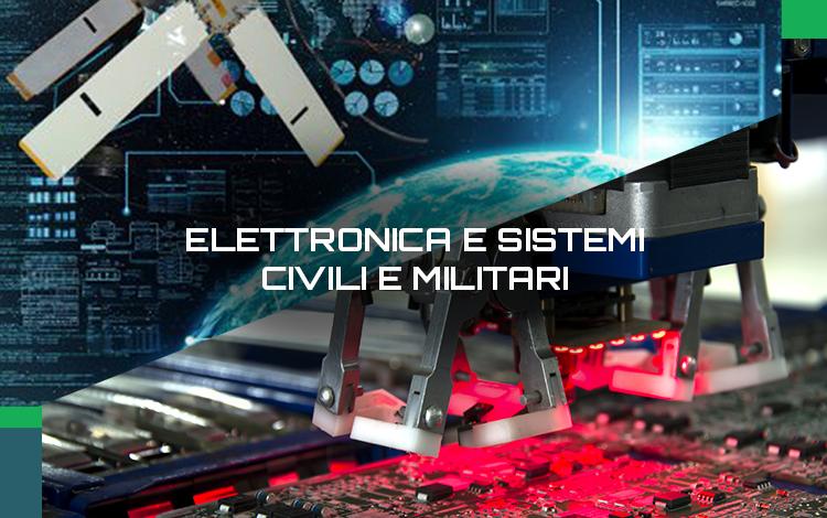 elettronica sistemi civili militari